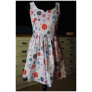 Modcloth Air Of Adorable Hot Air Balloon Dress